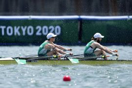 Ireland and Italy won gold in the light doubles