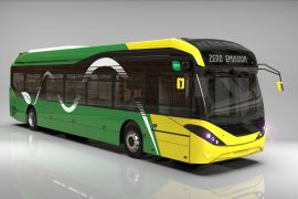 200 electronic buses will arrive in Ireland
