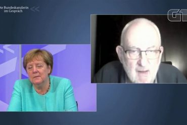 Angela Merkel almost voices as Kovid speaks to citizens at an online meeting |  The world