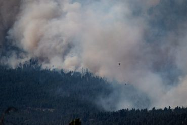 Canadian Heatwave - Litan, the village of all records, wipes out the map from the fire