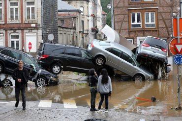 Floods in Belgium: The city of Verviers in shock