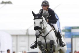Hummingen-Bronen had a fever with an Irish rider