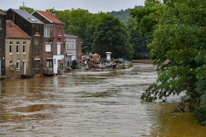 July 16, 2021 Ligil (Belgium) Chani Sauceless Eaux District.