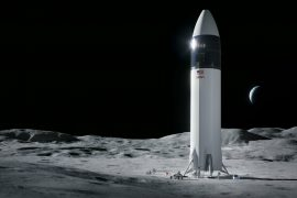 Moon Landing Module |  Selects NASA's SpaceX Deemed Regulator