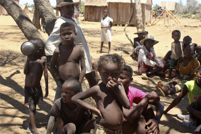 On November 9, 2020, children in the village of Angilimarovahatsi, in the southern part of the island of Madagascar, became severely malnourished.