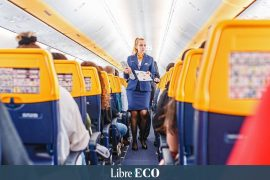 Ryanair recruits cabin crew for its Belgian bases