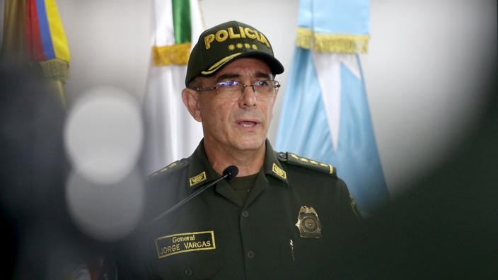 Le général Jorge Luis Vargas, le chef de la police colombienne, s