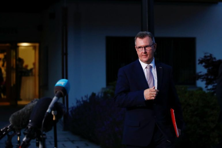 Sir Jeffrey Donaldson has been approved as the new DUP leader