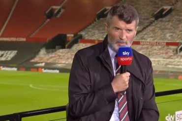 The only time Roy Keane withdrew from the confrontation