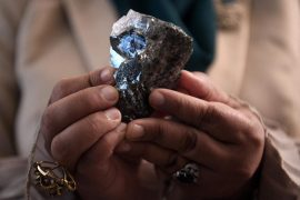 The world's third largest unusual diamond has been discovered in Botswana