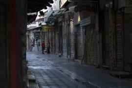 Lockdown em Atenas