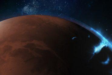 Ultraviolet light from Mars' aurora finds Emirati in orbit