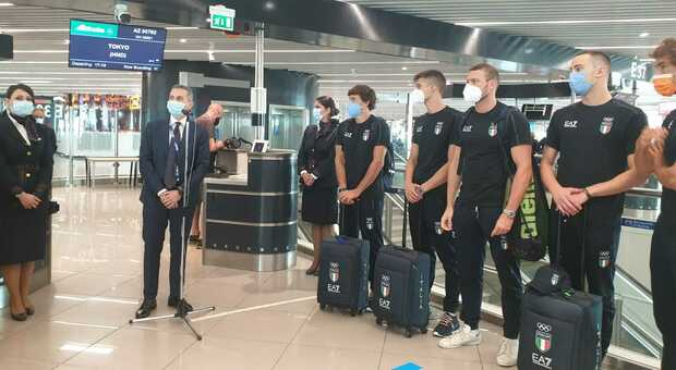 Italy resumed thanks to sports.  Blues flies to Japan from Fumicino