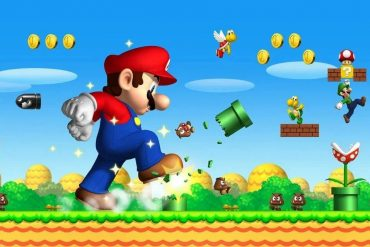 Super Mario is a game that came to light in the Soviet era.  Have you played it?  |  Sports House