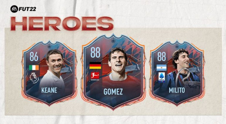 These are FUT heroes, they can