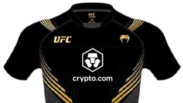 Crypto.com is the new main sponsor of UFC events.  $ 175 million investment over 10 years