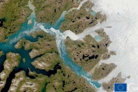 The highest peak in Greenland records rainfall for the first time
