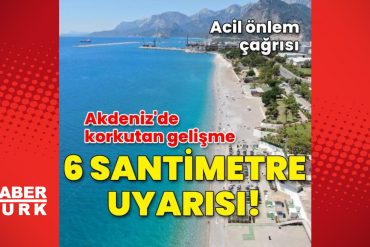 Rising!  Last minute: 6 cm warning in the Mediterranean - News