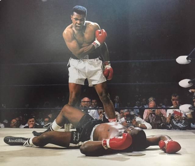 Mohammad Ali fired Sony Liston