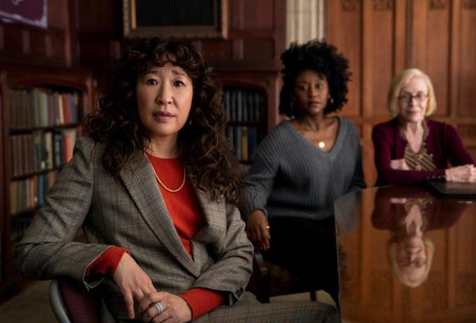 The little conversation of the week - Sandra Oh is back - is amazing
