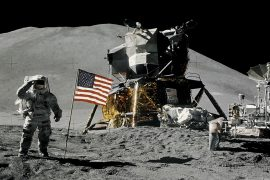 50 years after the historic lunar mission, Brown Geologist shares stories from Mission Control