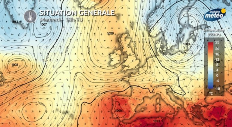 After the cold drop, omega: This phenomenon explains the weather forecast for the coming days
