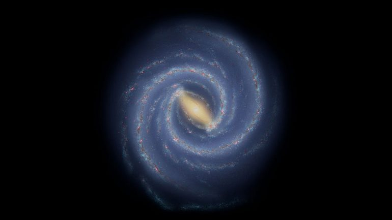"""Astronomers see a strange """"spring"""" on the spiral arm of the Milky Way"""