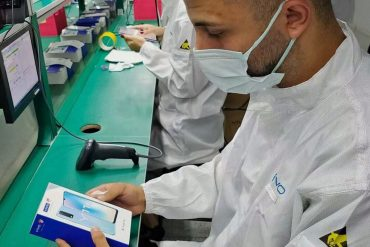 Chinese phone giant Vivo has also started phone production in Turkey