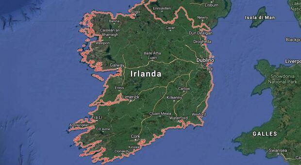 "Climate, Will Ireland Underwater?  Shock predictions.  ""2050 km of coastline submerged"""