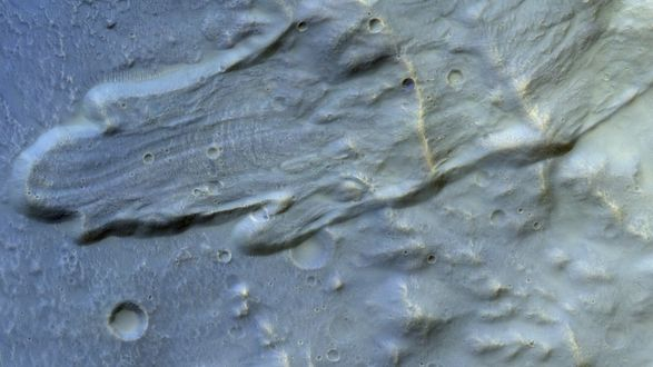 European Space Agency publishes photo of a crater on Mars - UN News