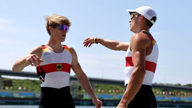 First Lightweight Medal: Historic Silver for rowing