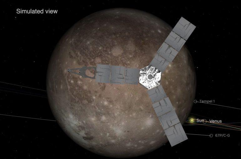 Happy Birthday Juno!  NASA's Jupiter spacecraft was launched 10 years ago