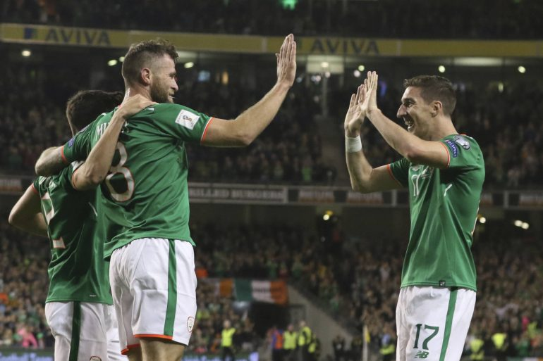 Ireland pays equal pay for men and women on top teams