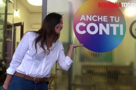 """Isabella Conti presents the list of """"left-left service. Rainbow symbol like our city"""" 
