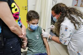 Israel has been providing the third dose of the vaccine since the age of twelve