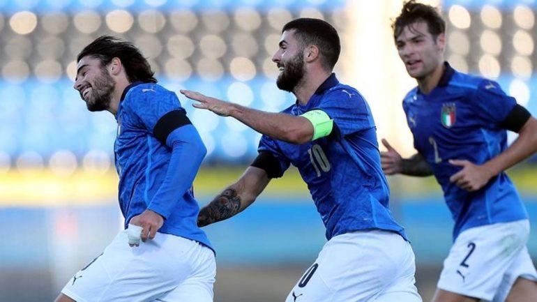 Italy-Ireland U21 2-0: Soot and Katron scored