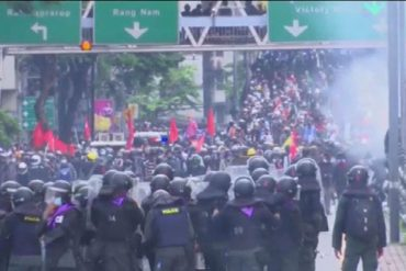 Protests in Thailand demanding government resignation;  Protesters criticize the country's behavior during the epidemic  The world