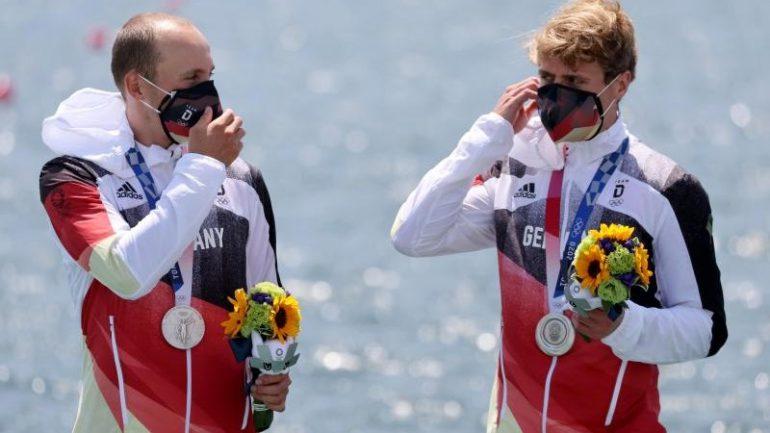 Rowing - Rommelman and Osborne won silver rowing - Sport