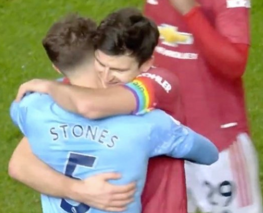 John Stones and Harry Maguire kissed the whistle the whole time, upsetting Keane