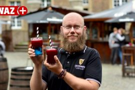 The Beer Garden in Oberhausen offers ice cream for adults only