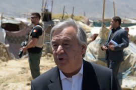 The UN chief said the Taliban feared violating women's rights