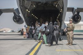 The U.S. accelerated operations in Afghanistan, evacuating 16,000 people in 24 hours
