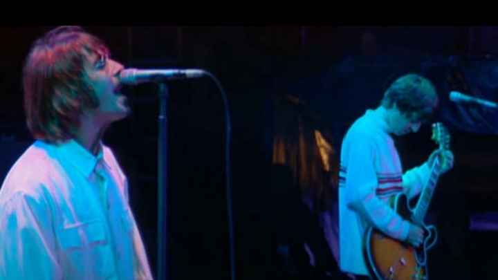 The documentary celebrates the weekend that Oasis played for 250,000 people.  Watch the trailer