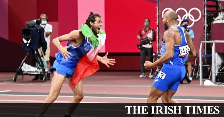 Thomas Parr loses final, Italy wins double gold