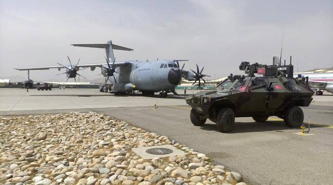 Turkey withdraws security from Kabul airport and withdraws troops from Afghanistan