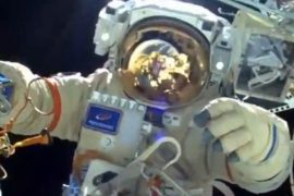 Russia begins work on the International Space Station's naval module