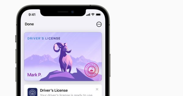After Apple Pay: Apple also allows you to issue a driver's license on the iPhone