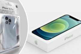 Apple sells iPhone 13 without packaging film