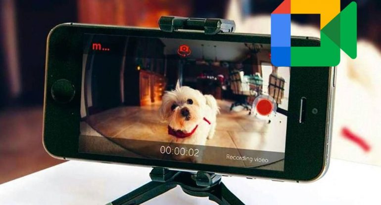 Google Meet |  So you can turn your mobile into a webcam |  Sports-play