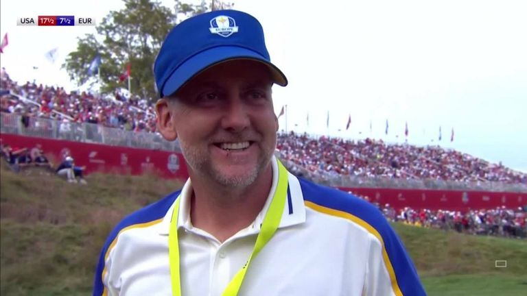 Ian Poulter admitted that it was a European team